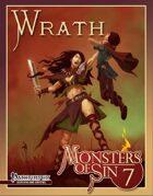 Monsters of Sin 7: Wrath (Pathfinder RPG)