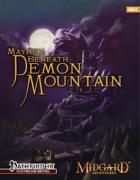 Midgard Adventures 4: Mayhem Beneath Demon Mountain (Pathfinder RPG)