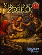 Streets of Zobeck for 5th Edition