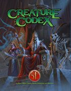 Creature Codex for 5th Edition