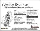 Sunken Empires Web Compilation (PFRPG)