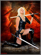 DunJon Poster JPG #36 (Lady Mech Slayer)