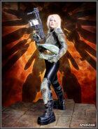 DunJon Poster JPG #46 (Warrior And A Mech)