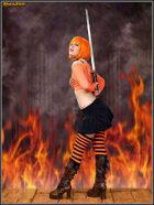 DunJon Poster JPG #97 (Revenge Of The CW Orange)