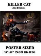 DunJon Poster JPG #108 (The Killer Cat)