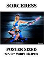 DunJon Poster JPG #133 (Sorceress )
