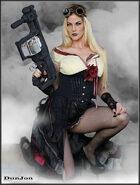 DunJon Poster JPG #137 (Steam Vixen)