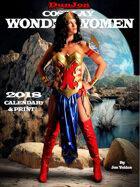 2018 Cosplay Wonder Women Calendar