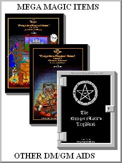 Magic Books & DM Supplements