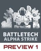 BattleTech: Alpha Strike Preview 1