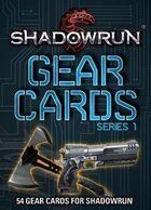 Shadowrun: Gear Cards, SR5 Series 1
