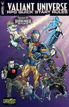 Valiant Universe RPG Quick Start Rules : Harbinger Wars: Renegades