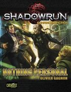 Shadowrun: Nothing Personal (Enhanced Fiction)