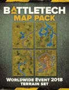 BattleTech: MapPack: WWE2018 Terrain Set