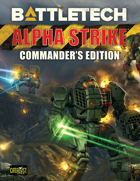 BattleTech: Alpha Strike: Commander\'s Edition