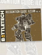BattleTech: Recognition Guide: ilClan Vol. 14