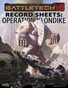 BattleTech: Record Sheets: Operation Klondike
