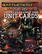 BattleTech: Quick-Strike Cards: Technical Readout 3060