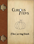Curious Items: The Carving Patch