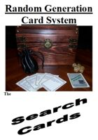 Random Generation Card System: The Search Cards
