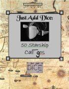 Just Add Dice: 50 Starship Cargos