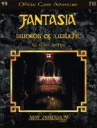 Fantasia: Swords Of Twilight--Adventure F10