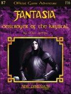 Fantasia: Destroyer of The Krystal -- Adventure F16