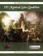 101 Mystical Site Qualities (PFRPG)