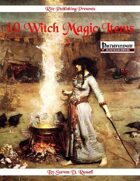 10 Witch Magic Items (PFRPG)