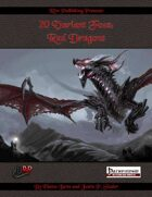 20 Variant Foes: Red Dragons (PFRPG)