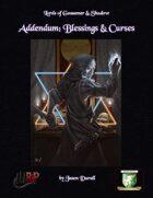 Addendum: Blessings & Curses (Diceless)