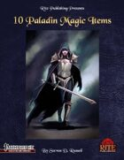 10 Paladin Magic Items (PFRPG)