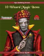 10 Wizard Magic Items (PFRPG)