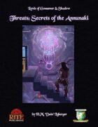 Threats: Secrets of the Annunaki (Diceless)