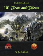 101 Feats and Talents (13th Age Compatible)