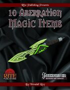 10 Aberration Magic Items (PFRPG)