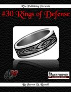 #30 Rings of Defense (PFRPG)