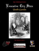 Evocative City Sites: Voell's Garden (PFRPG)