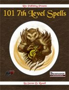 101 7th Level Spells (PFRPG)