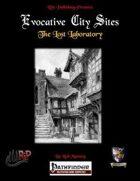 Evocative City Sites: The Lost Laboratory (PFRPG)