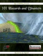 101 Hazards and Disasters (PFRPG)