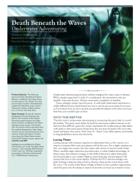 Indulgence: Death Beneath the Waves