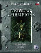 Fighting Fantasy - Trial of Champions