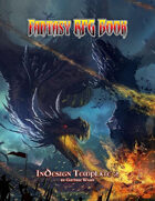 Fantasy RPG Book - InDesign Template 2