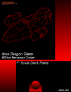 "Ares Dragon 1"" Scale Deck plans"