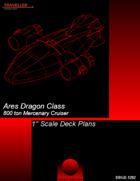 "Ares Dragon 1"" Scale Deck plans"