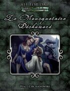 AFO Adventure Compendium One – Le Mousquetaire Dishonore