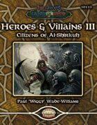 Hellfrost Land of Fire: Heroes & Villains 3