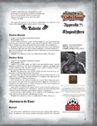 Leagues of Gothic Horror Appendix 7: Guide to Shapeshifters