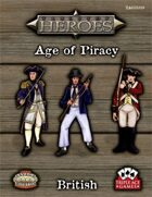 Tabletop Heroes: Age of Piracy - British Sailors